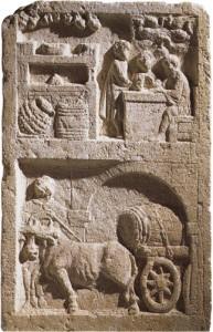 Rimska pivnica na glineni ploščici