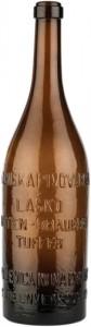Steklenica Delniške pivovarne Laško