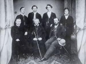 Mihael Stare s sinovi iz drugega zakona