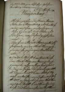Kompenzacijska pogodba Marije Stare s sinom Julijem
