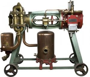 Črpalka iz vložne kleti, ki jo je uporabljala Pivovarna Mengeš, pretok 35 hl/uro; od leta 1917 last Pivovarne Union, ki jo je uporabljala do leta 1961